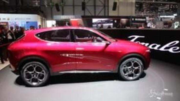 Alfa Romeo Tonale: concept car svelata al Salone di Ginevra