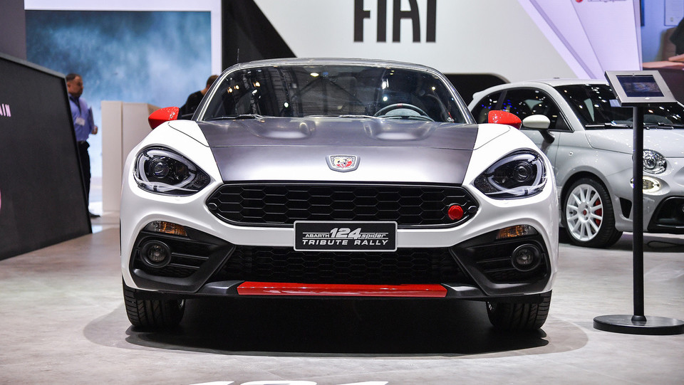 Abarth 124 Spider Tribute Rally ©