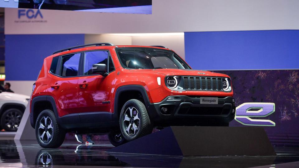 Nuove Jeep Renegade e Compass hybrid ©