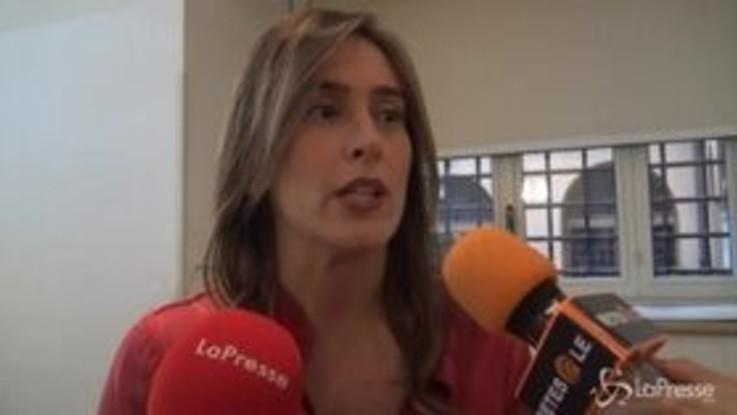 """Maria Elena Boschi: """"Studio e lavoro bottoni dell'ascensore sociale"""""""