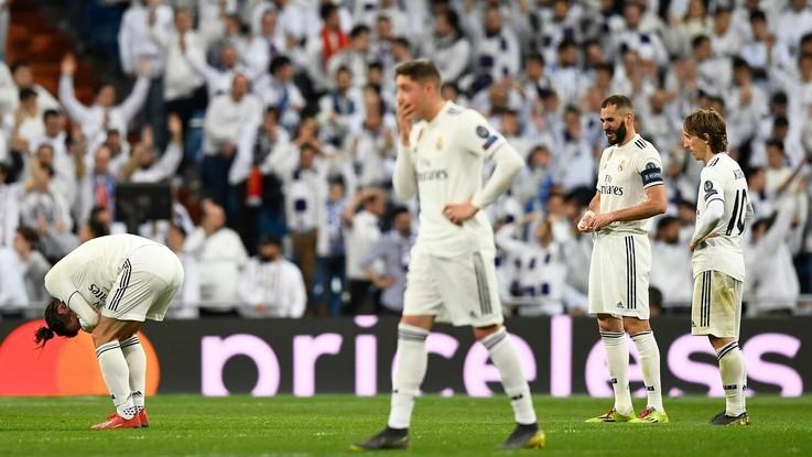"""Champions, Real eliminato. Le reazioni della stampa spagnola: """"Fine umiliante di un ciclo"""""""
