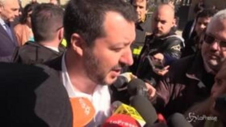 """Tav, Salvini: """"Servono infrastrutture, entro venerdì si decide"""""""