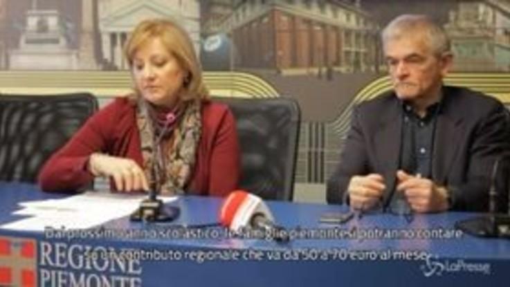 Piemonte, arriva il 'buono nidi': da Regione 5,5 milioni per pagare rette