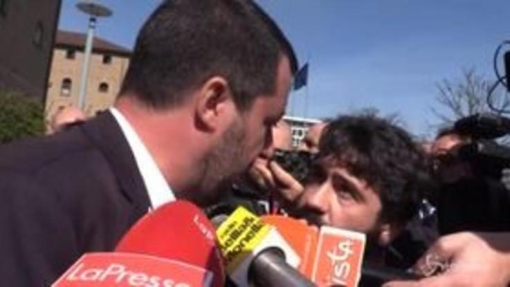 """Salvini: """"L'Onu dice che sono razzista e non penso di esserlo"""""""