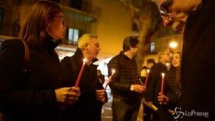 Stupro Circumvesuviana, fiaccolata a San Giorgio a Cremano