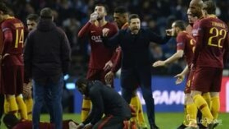 Champions League, Roma eliminata dal Porto ai supplementari