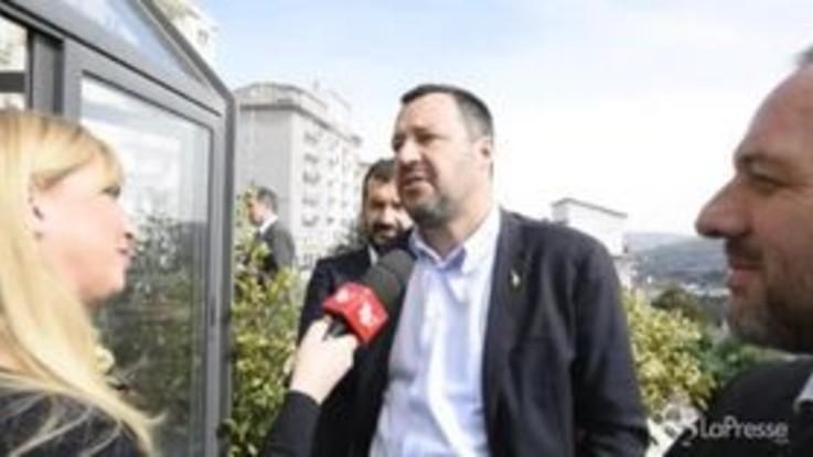 """Tav, Salvini: """"Si litiga anche in famiglia, poi si sceglie nel nome del buon senso"""""""