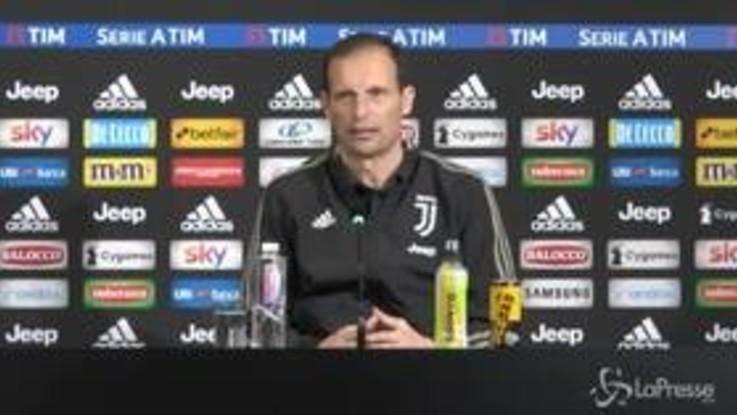 """Juventus, Allegri: """"Futuro? Ne parliamo a fine stagione. Mai detto di voler andar via"""""""