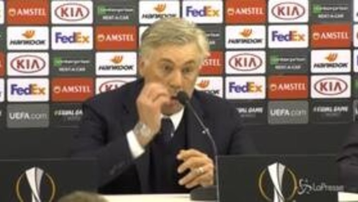 """Napoli-Salisburgo, Ancelotti: """"La gara di ritorno sarà complicata"""""""