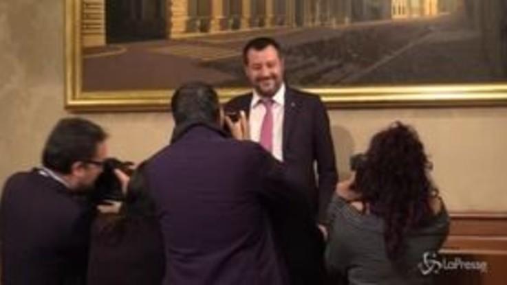 """Tav, Salvini: """"Oggi nessun vertice, ne parliamo lunedì"""""""