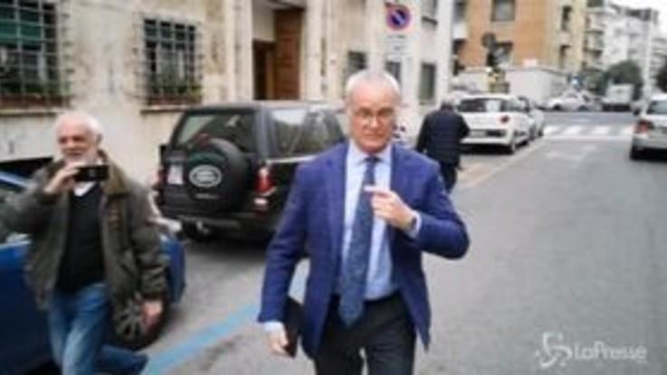 Roma, Ranieri in città: dalla sua casa a Trigoria