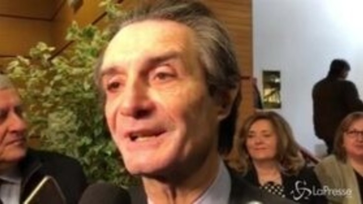"Tav, Fontana: ""Governo a rischio? Non so, ma opera è importante"""
