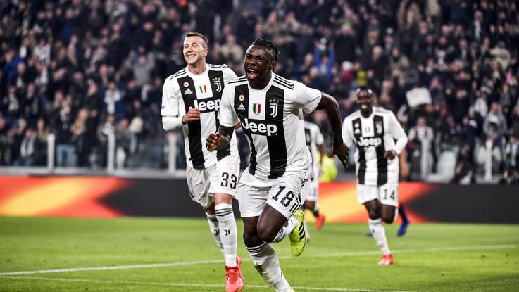 La Juve, strapazza l'Udinese. Doppietta di Kean: 4-1