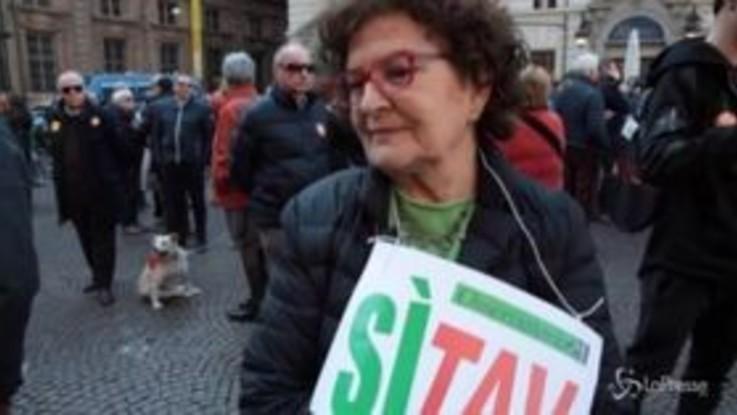 """Sì Tav, Le madamine: """"Domenica prossima in piazza con tutti i partiti pro"""""""