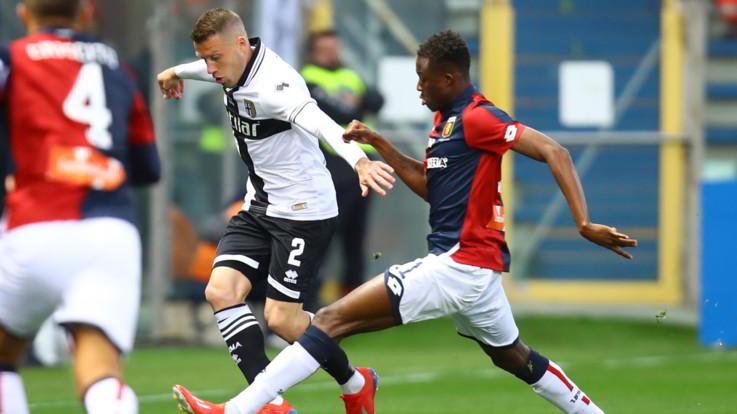 Serie A, Parma-Genoa 1-0   Il fotoracconto
