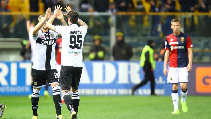 Serie A, l'ex Kucka stende il Genoa: Parma vince 1-0 nell'anticipo
