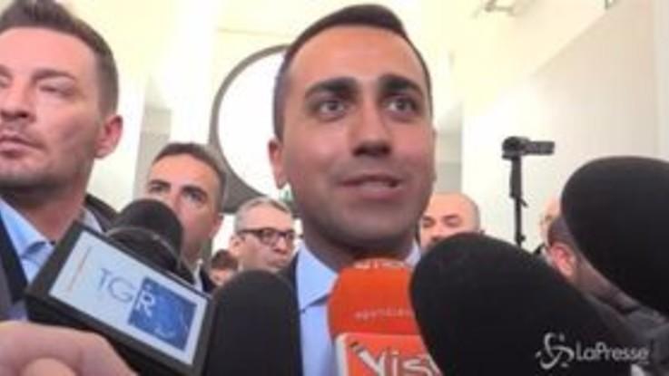 """Tav, Di Maio: """"Chi ha vinto? Non è una partita di calcio"""""""