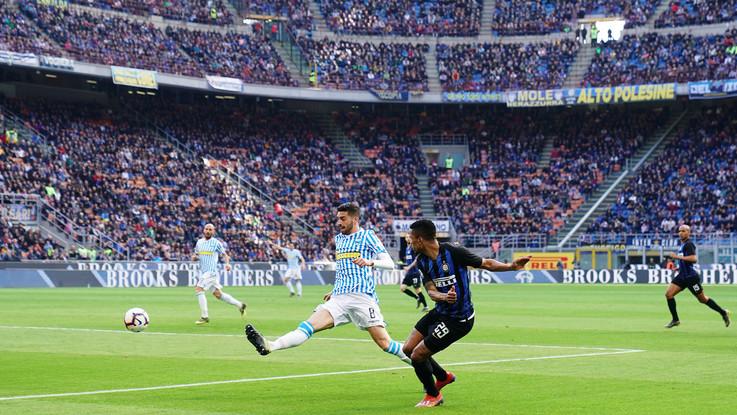 Serie A, Inter-Spal 2-0 | Il fotoracconto