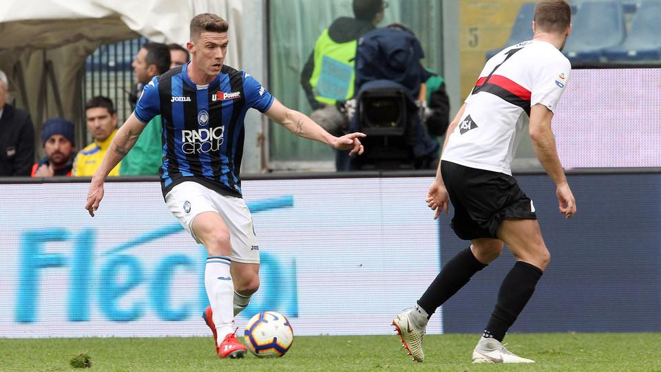 Il terzo gol della partita è di Gosens, che porta di nuovo in vantaggio l'Atalanta ©