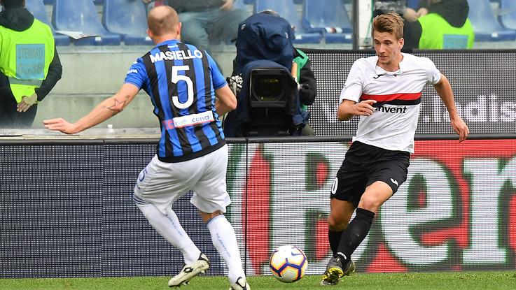Serie A, Sampdoria-Atalanta 1-2   Il fotoracconto