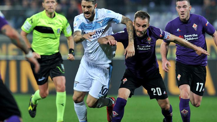 Immobile e Muriel, tra Fiorentina e Lazio un pareggio inutile 1-1