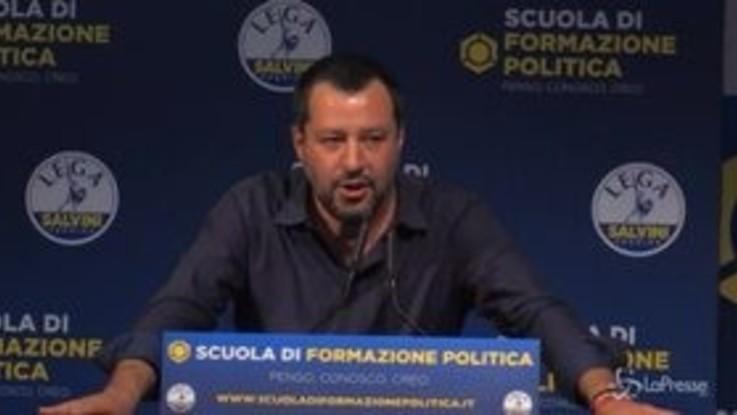 """Salvini: """"Lunga vita all'unico vero Capitano, che è Baresi"""""""