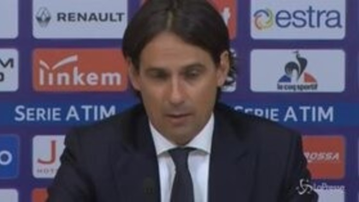 """Lazio, Inzaghi: """"Dovevamo vincere, arrabbiato per il pareggio"""""""