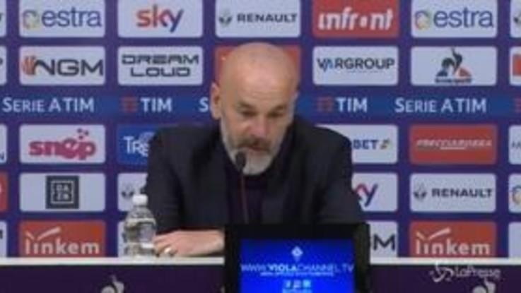 """Fiorentina, Pioli: """"Decisivi i prossimi due mesi, allenerò fino a 65 anni"""""""