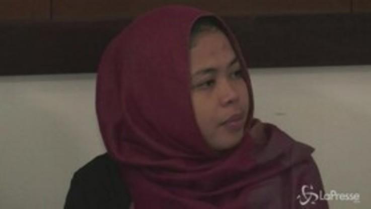 Fu accusata dell'omicidio del fratellastro di Kim, rilasciata donna in Malesia