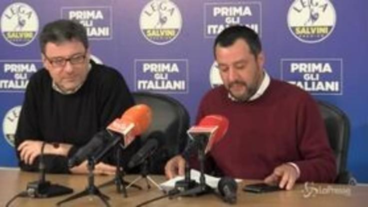 """Lega, Salvini: """"Primi in Italia e dopo 26 maggio forza di riferimento in Ue"""""""