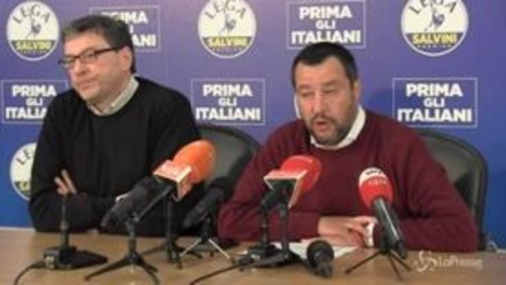 """Tav, Salvini: """"Solo una delle opere pubbliche da sbloccare"""""""