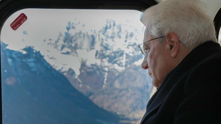 """Clima, Mattarella lancia l'allarme: """"Siamo sull'orlo di una crisi globale"""""""