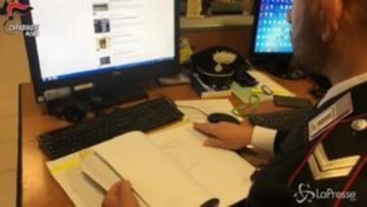 Truffe online in tutta Italia, cinque arresti a Roma