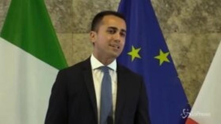 """Ue, Di Maio: """"L'Italia deve riappropriarsi del Commissario per l'Industria e le imprese"""""""