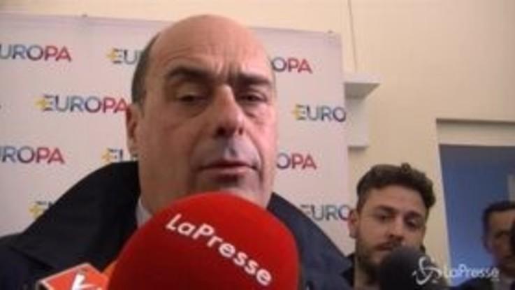 """Via della seta, Zingaretti: """"Altro pilastro che si arena dentro i pasticci di una maggioranza divisa su tutto"""""""