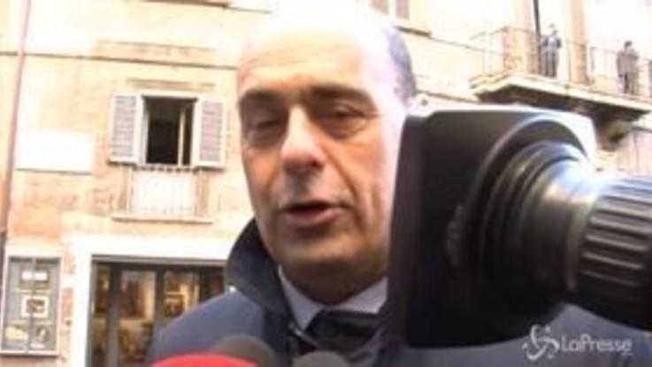 """Tav, Zingaretti: """"Ennesimo pasticcio, Paese fermo per colpa di governo"""""""