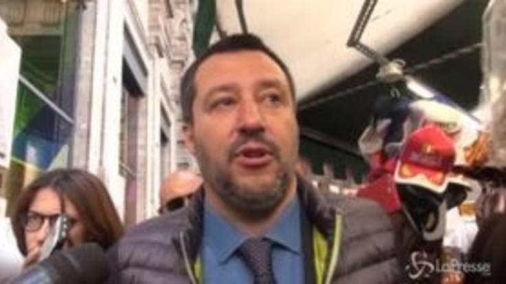 """Via della Seta, Salvini cauto: """"Ne stiamo parlando, la sicurezza degli italiani prima di tutto"""""""