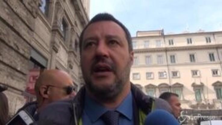 """Salvini su Sblocca cantieri: """"È pronto, le norme rigide a volte aiutano i furbetti"""""""