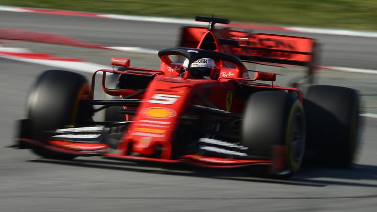 "F1, si chiamera ""Lina"" la Ferrari di Sebastian Vettel"