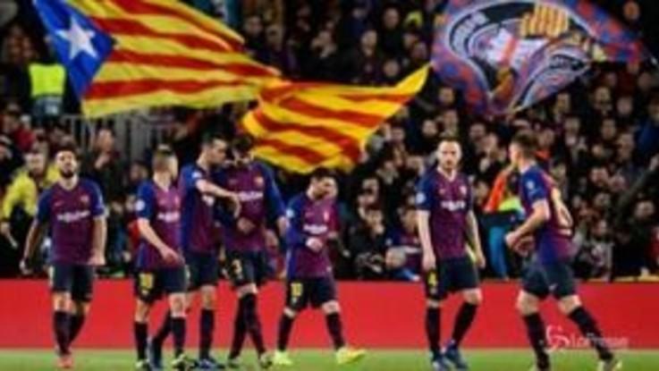 Champions, Barcellona e Liverpool ai quarti di finale