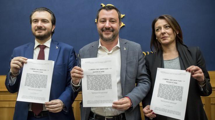 """Salvini presenta proposta di legge sui marchi storici: """"Così difendiamo il Made in Italy"""""""