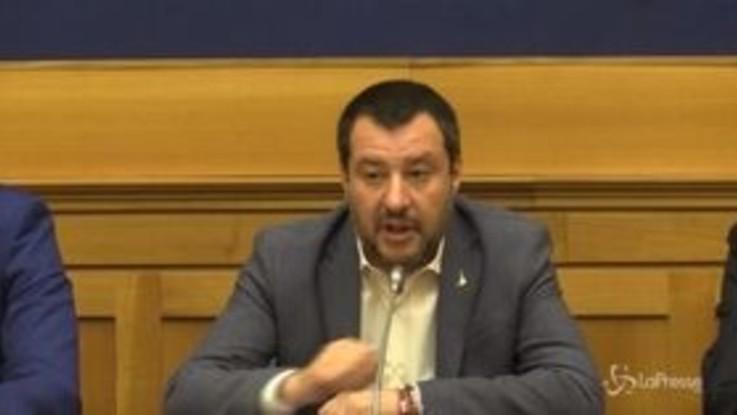 """Infrastrutture, Salvini: """"La creazione di un commissario? Aiuterebbe"""""""