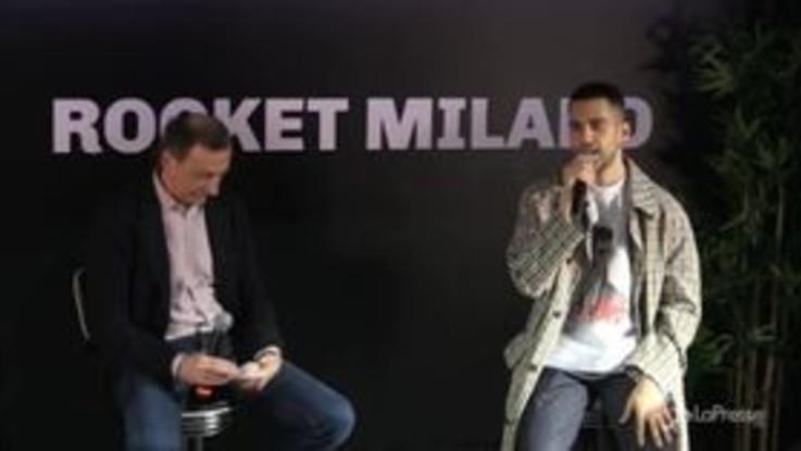 "Sala incontra Mahmood: ""I tram di Milano fonte d'ispirazione"""