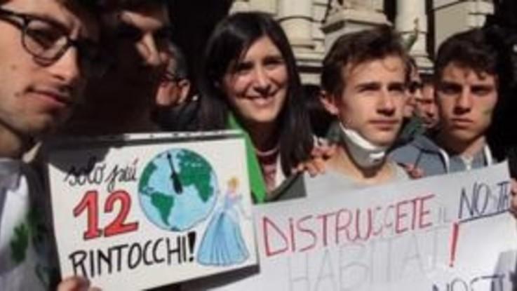 Friday4climate a Torino: Appendino incontra gli studenti in manifestazione