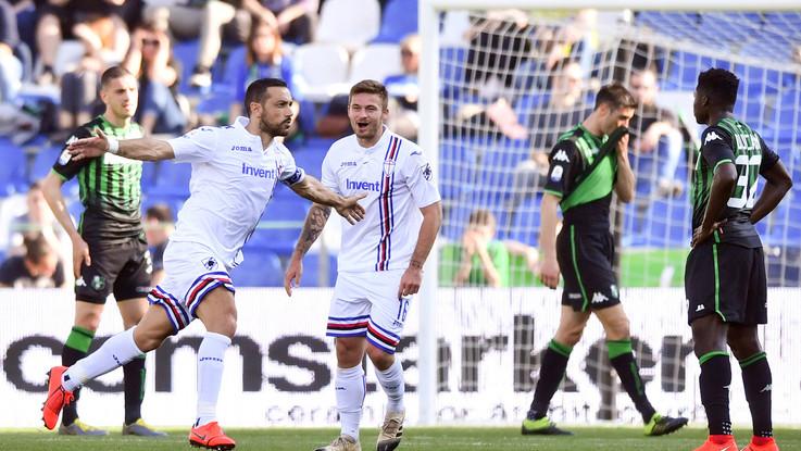 Serie A, festival del gol al Mapei Stadium: Samp batte Sassuolo 5-3