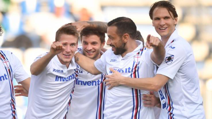 Serie A, Sassuolo-Sampdoria 3-5 | Il fotoracconto