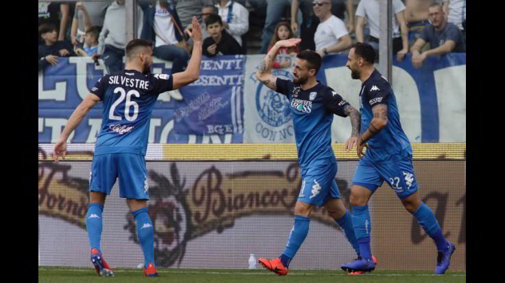 Serie A, Empoli-Frosinone 2-1 | Il fotoracconto