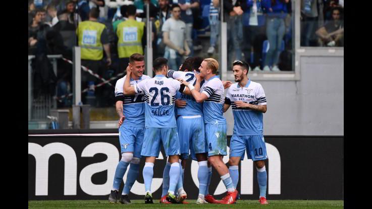 Serie A, Lazio-Parma 4-1 | Il fotoracconto