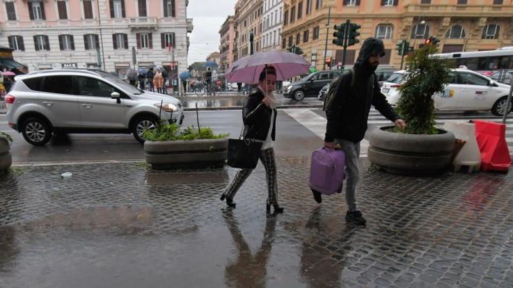 Pioggia e basse temperature: le previsioni del 18 e del 19 marzo