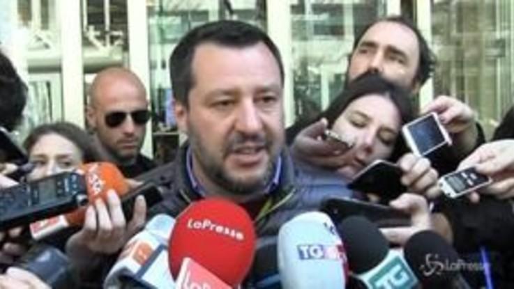 """Flat tax, Salvini: """"I numeri dei giornali hanno l'attendibilità di Topolinio"""""""